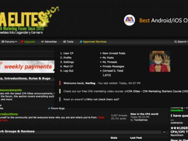 CPA Elites Premium Mybb Theme