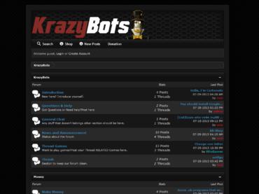 MyBB bot Dark Custom Theme