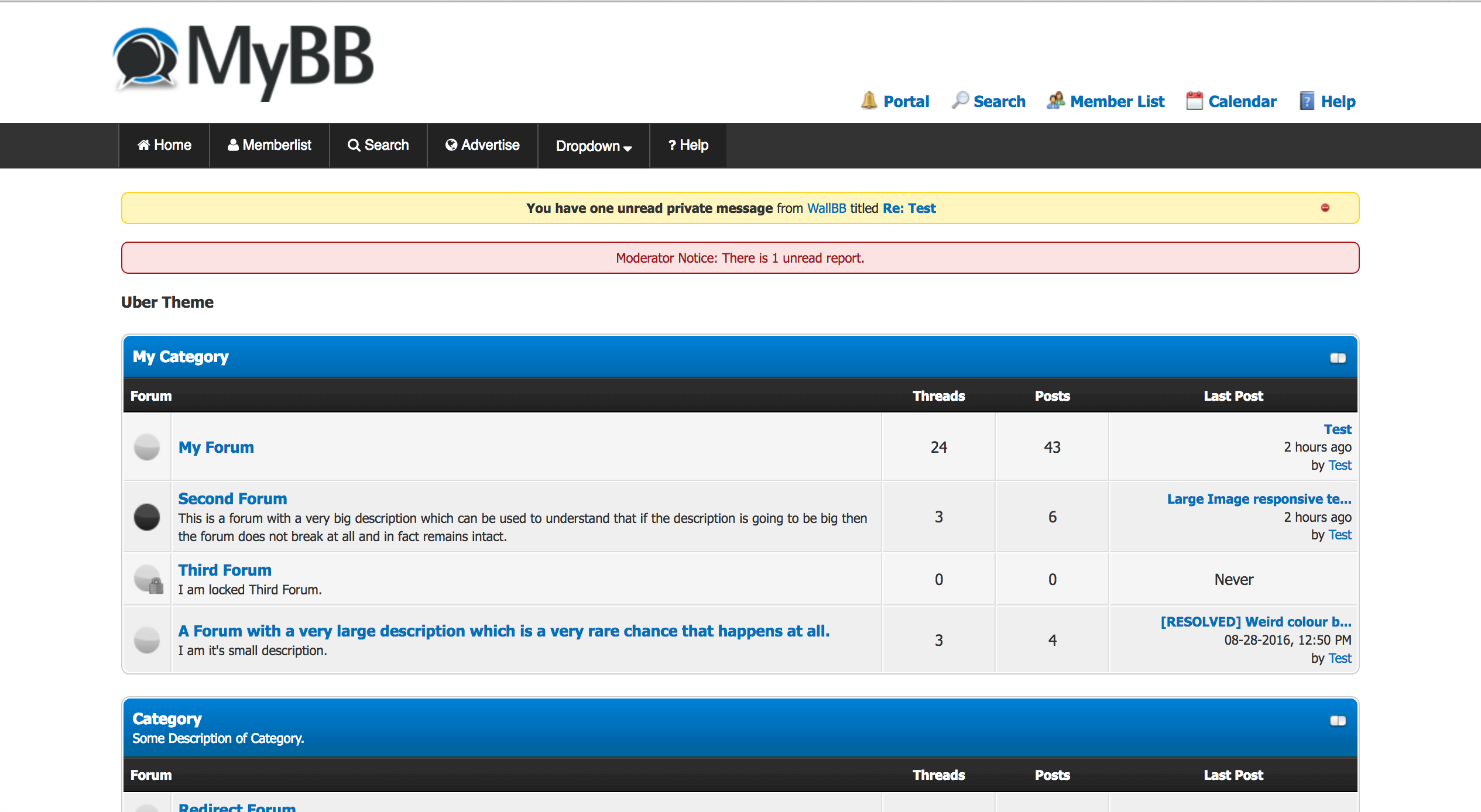 Simple three step tutorial to add responsive menu for MyBB forums