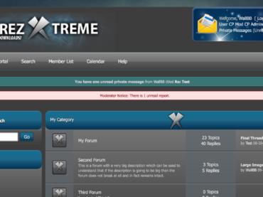 Xtreme Theme – vBulletin style MyBB theme
