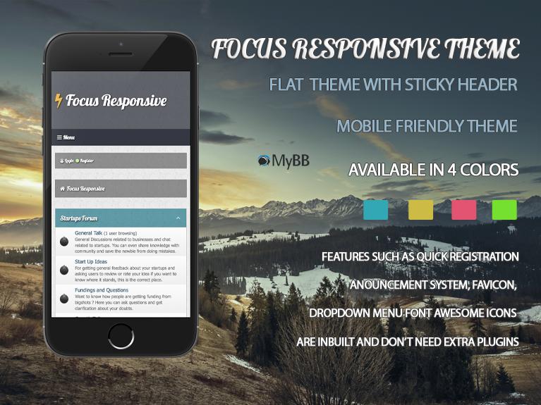 Focus Responsive Theme